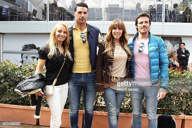 Jessica Exposito Joan Pedrero Gisela Llado Canovas 'Gisela' and Octavi Pujades attend the Barcelona Open Banc Sabadell 64th Conde de Godo Trophy at...