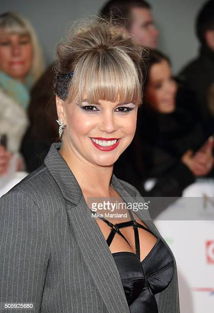 Jessica Fox attends the 21st National Television Awards at The O2 Arena on January 20 2016 in London England