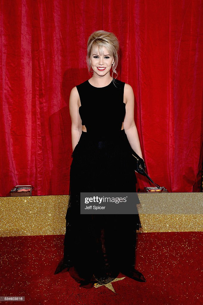 Jessica Fox attends the British Soap Awards 2016 at Hackney Empire on May 28, 2016 in London, England.