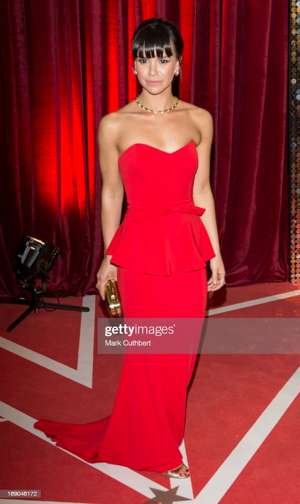 Jessica Fox attends the British Soap Awards at Media City on May 18, 2013 in Manchester, England.
