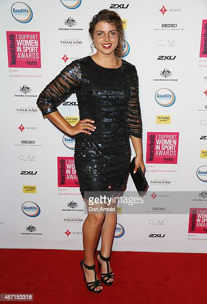 Jessica Fox attends the Women's Health 'I Support Women In Sport' Awards at The Establishment on October 13 2014 in Sydney Australia