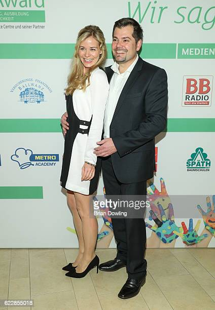 Jessica Ginkel and Daniel Fehlow attend the TakeOff Award 2016 on November 12 2016 in Berlin Germany The TakeOff Award has been awarded since 2012...