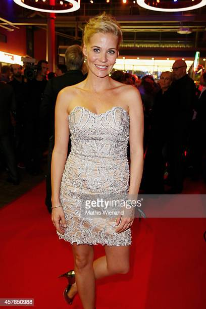 Jessica Ginkel attends the 18th Annual German Comedy Awards at Coloneum on October 21 2014 in Cologne Germany The show will be aired on RTL on...