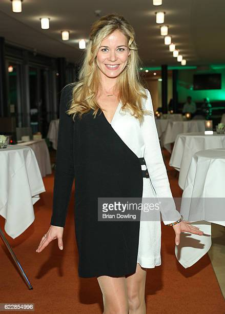 Jessica Ginkel attends the TakeOff Award 2016 on November 12 2016 in Berlin Germany The TakeOff Award has been awarded since 2012 for exceptional...