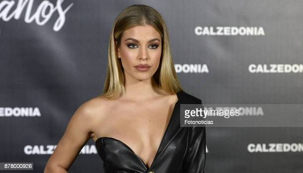 Jessica Goicoechea attends the Calzedonia 25th Anniversary party at the Real Jardin Botanico on November 23 2017 in Madrid Spain