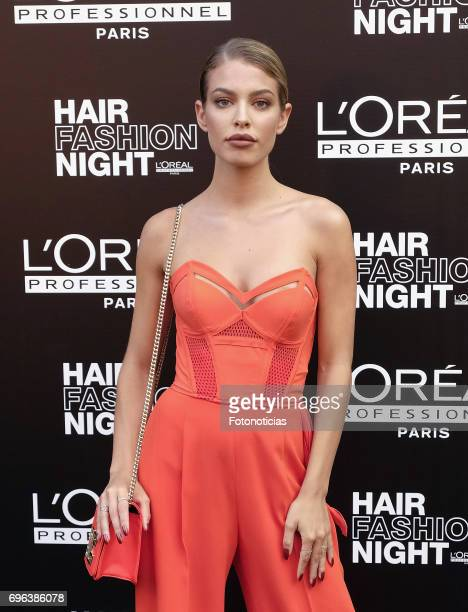 Jessica Goicoechea attends the Hair Fashion Night photocall at Callao cinema on June 15 2017 in Madrid Spain