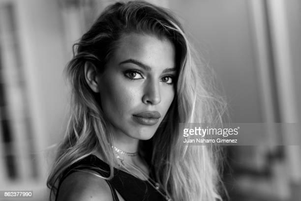 Jessica Goicoechea poses during a portrait session at Maria Cristina Hotel during 65th San Sebastian International Film Festival on September 27 2017...