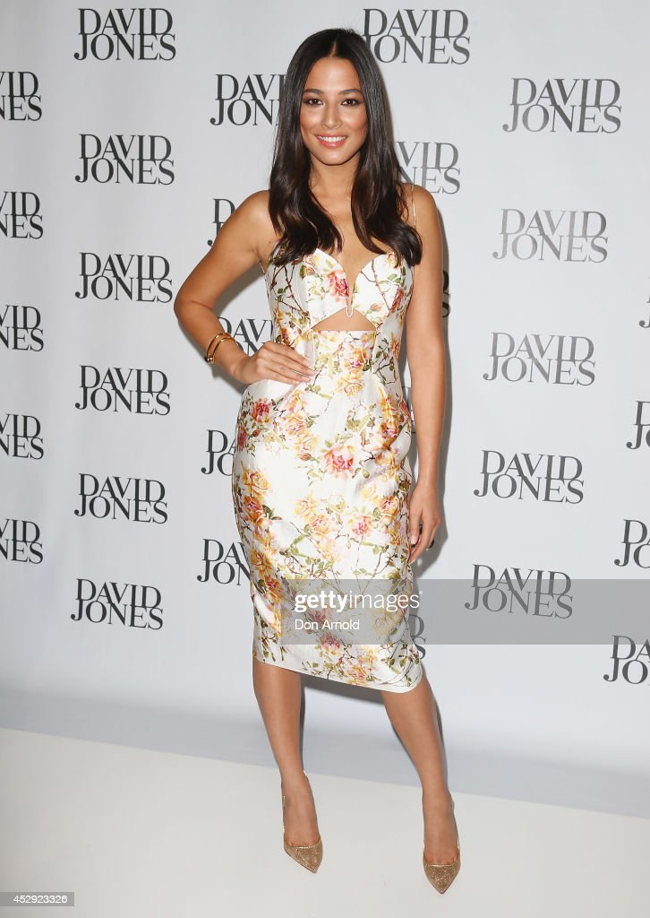 <a gi-track='captionPersonalityLinkClicked' href=/galleries/search?phrase=Jessica+Gomes&family=editorial&specificpeople=4319063 ng-click='$event.stopPropagation()'>Jessica Gomes</a> arrives at the David Jones Spring/Summer 2014 Collection Launch at David Jones Elizabeth Street Store on July 30, 2014 in Sydney, Australia.