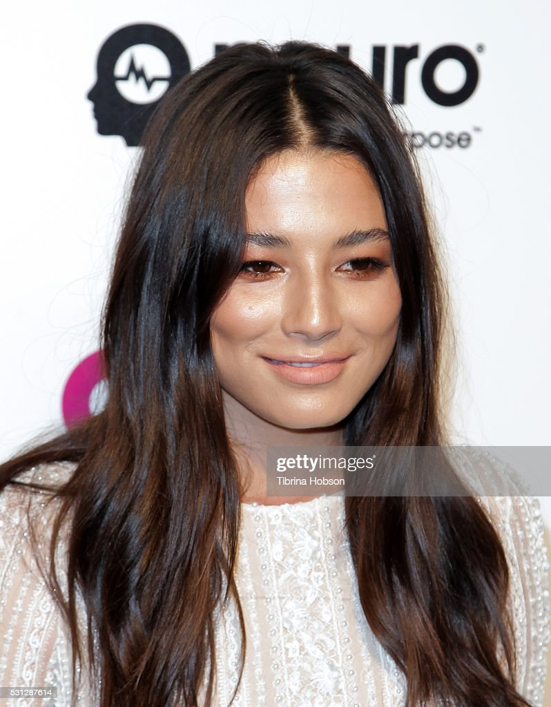 Jessica Gomes attends the 24th annual Elton John AIDS Foundation's Oscar Party on February 28, 2016 in West Hollywood, California.