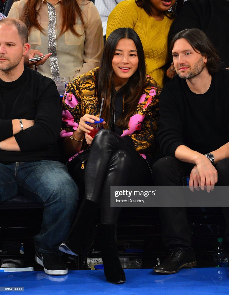 Jessica Gomes attends the Cleveland Cavaliers vs New York Knicks game at Madison Square Garden on December 15, 2012 in New York City.