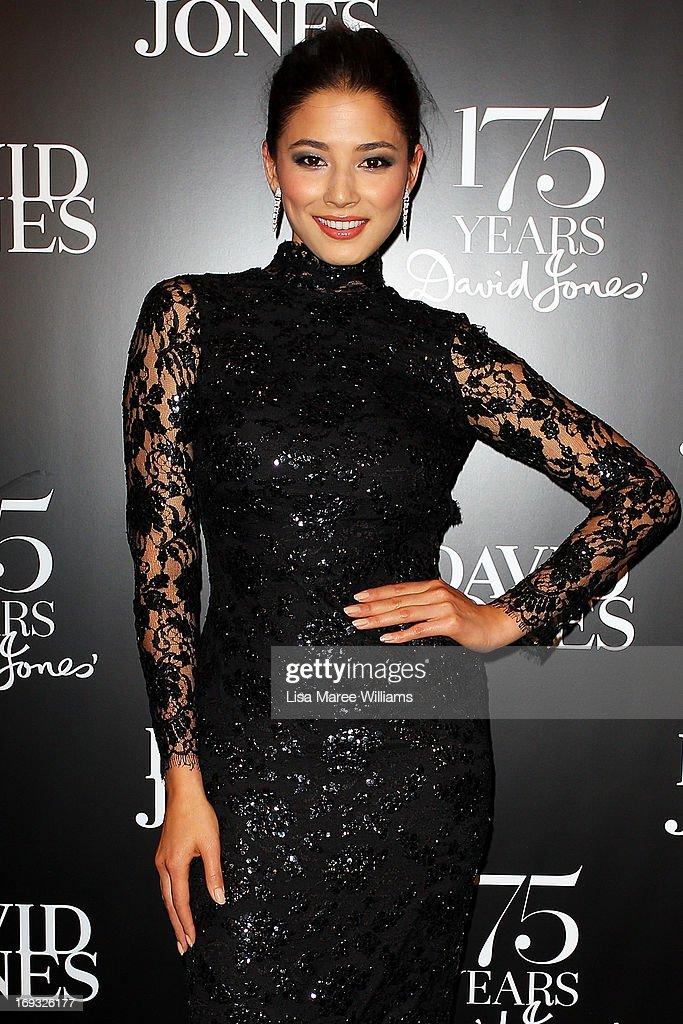 Jessica Gomes attends the David Jones 175 year celebration at David Jones on May 23, 2013 in Sydney, Australia.