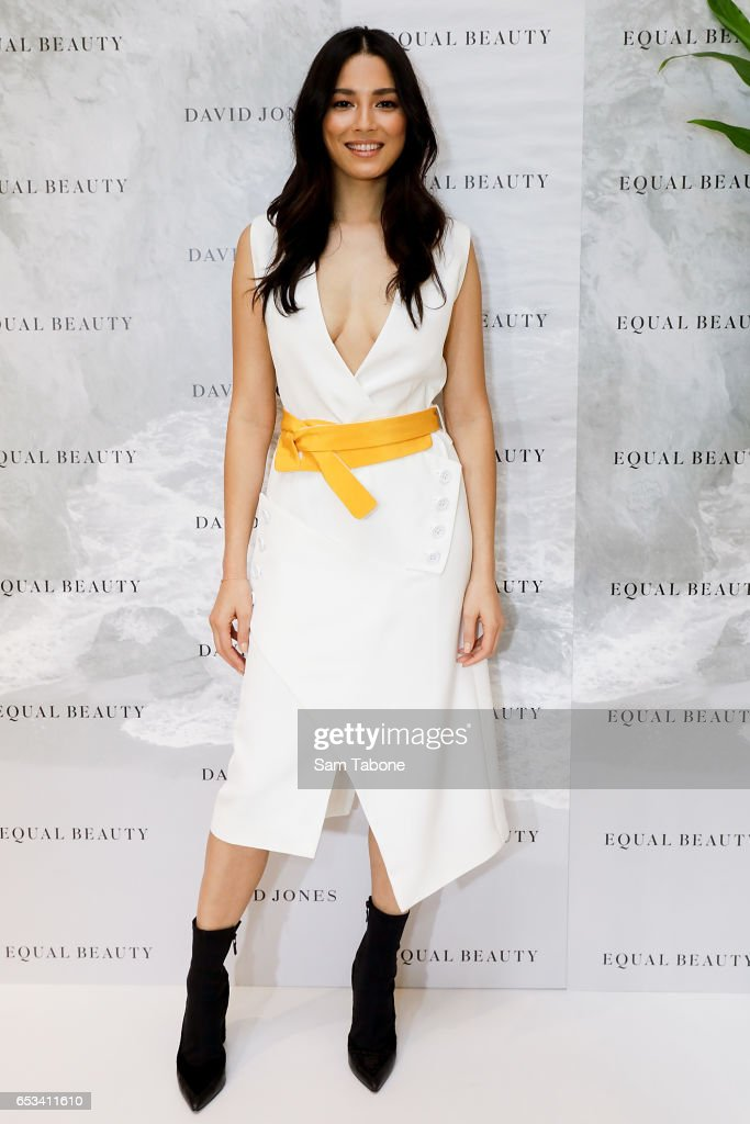 Jessica Gomes Launches 'Equal Beauty' At David Jones