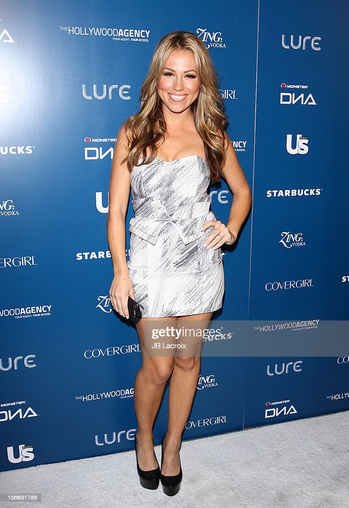 Jessica Hall attends the US Weekly Magazine's Music Party With Performance By The Wanted at Lure on November 18, 2012 in Hollywood, California.