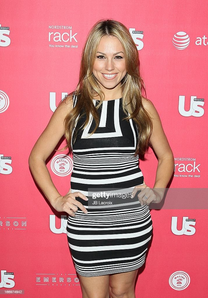 Jessica Hall attends the Us Weekly's Annual Hot Hollywood Style Issue Party at The Emerson Theatre on April 18, 2013 in Hollywood, California.