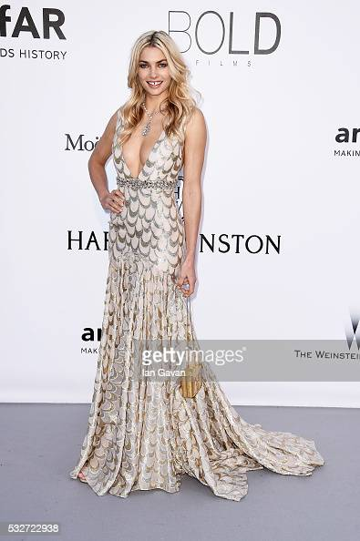 Jessica Hart arrives at amfAR's 23rd Cinema Against AIDS Gala at Hotel du CapEdenRoc on May 19 2016 in Cap d'Antibes France