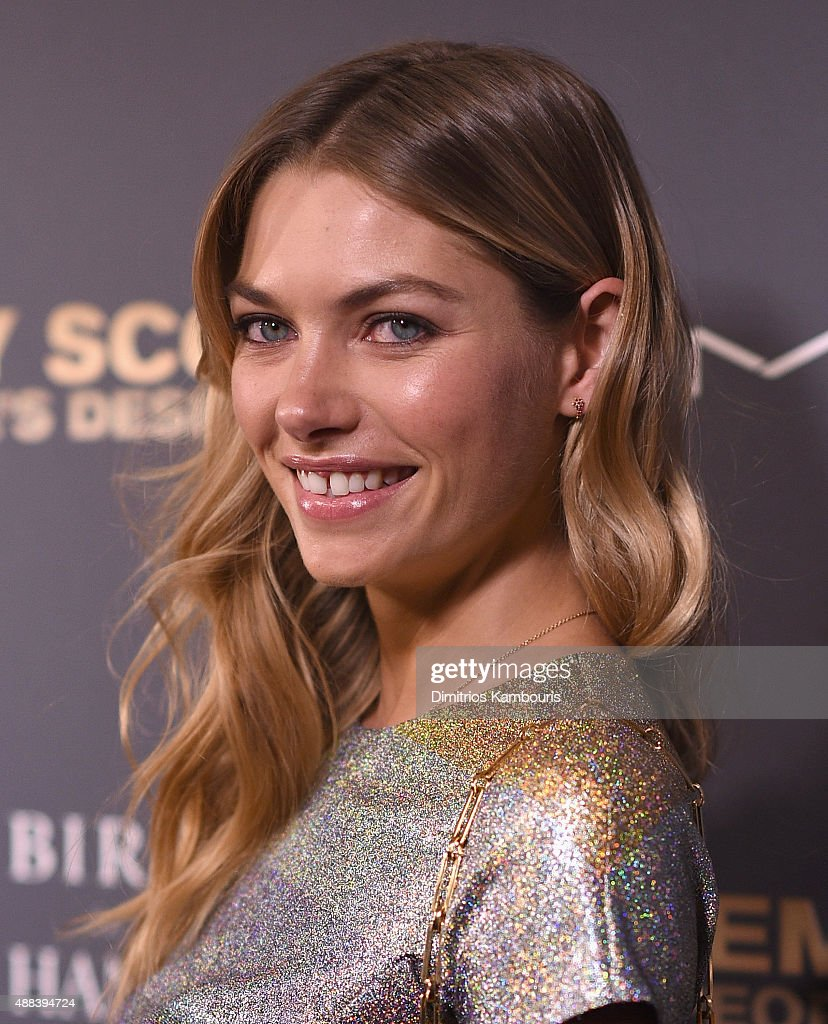 Jessica Hart attends 'Jeremy Scott: The People's Designer' New York Premiere at The Paris Theatre on September 15, 2015 in New York City.