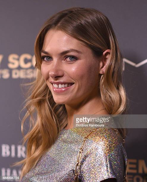 Jessica Hart attends 'Jeremy Scott The People's Designer' New York Premiere at The Paris Theatre on September 15 2015 in New York City