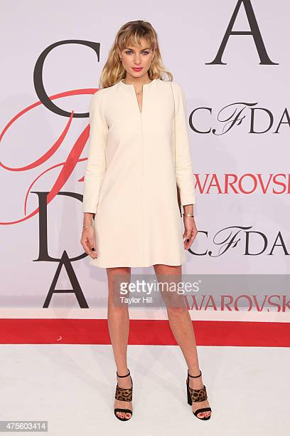 Jessica Hart attends the 2015 CFDA Awards at Alice Tully Hall at Lincoln Center on June 1 2015 in New York City