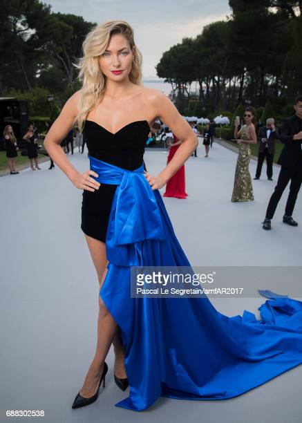 Jessica Hart attends the amfAR Gala Cannes 2017 at Hotel du CapEdenRoc on May 25 2017 in Cap d'Antibes France