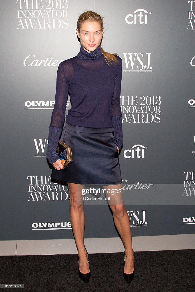 <a gi-track='captionPersonalityLinkClicked' href=/galleries/search?phrase=Jessica+Hart&family=editorial&specificpeople=4436555 ng-click='$event.stopPropagation()'>Jessica Hart</a> attends the WSJ. Magazine's 'Innovator Of The Year' Awards 2013 at The Museum of Modern Art on November 6, 2013 in New York City.