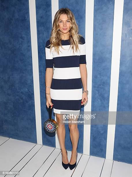 Jessica Hart attends Tory Sport Store Opening at Tory Sport on April 6 2016 in New York City