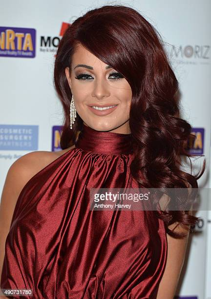 Jessica Hayes attends the National Reality TV Awards at Porchester Hall on September 30 2015 in London England