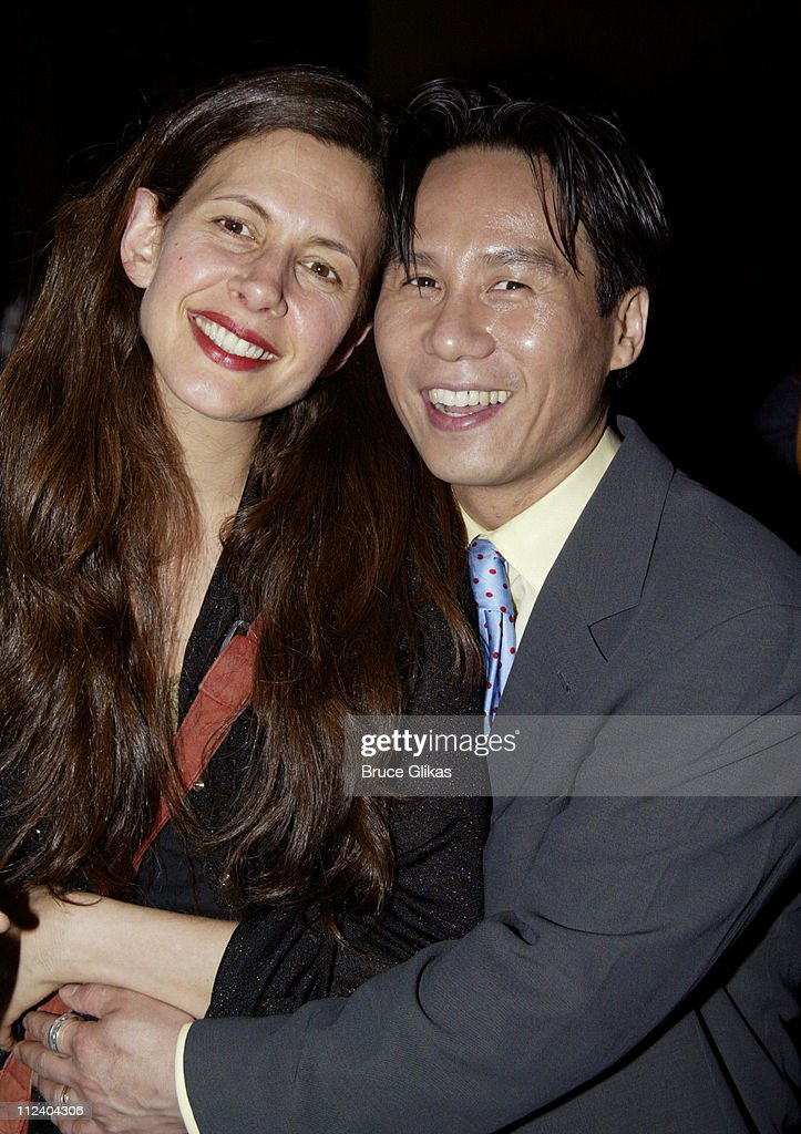 Jessica Hecht and BD Wong during BDWong Book Release Party for 'Following Foo ' at Ruby Foo's in New York City New York United States