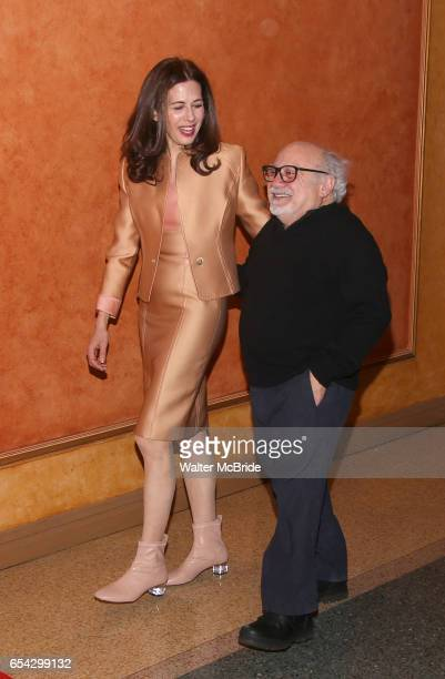Jessica Hecht and Danny DeVito attend the Broadway Opening Night performance After Party for the Roundabout Theatre Production of 'The Price' at the...