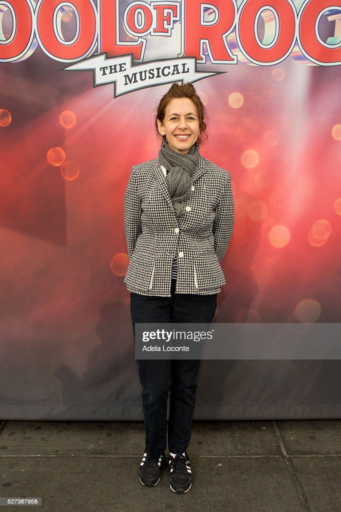 Jessica Hecht attends 2016 Actors Fund Ziggy Bear ceremony and performance at Winter Garden Theatre on May 2, 2016 in New York City.