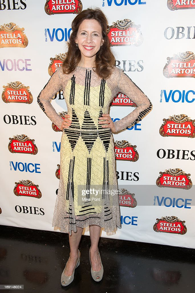Jessica Hecht attends the 2013 Obie Awards at Webster Hall on May 20 2013 in New York City