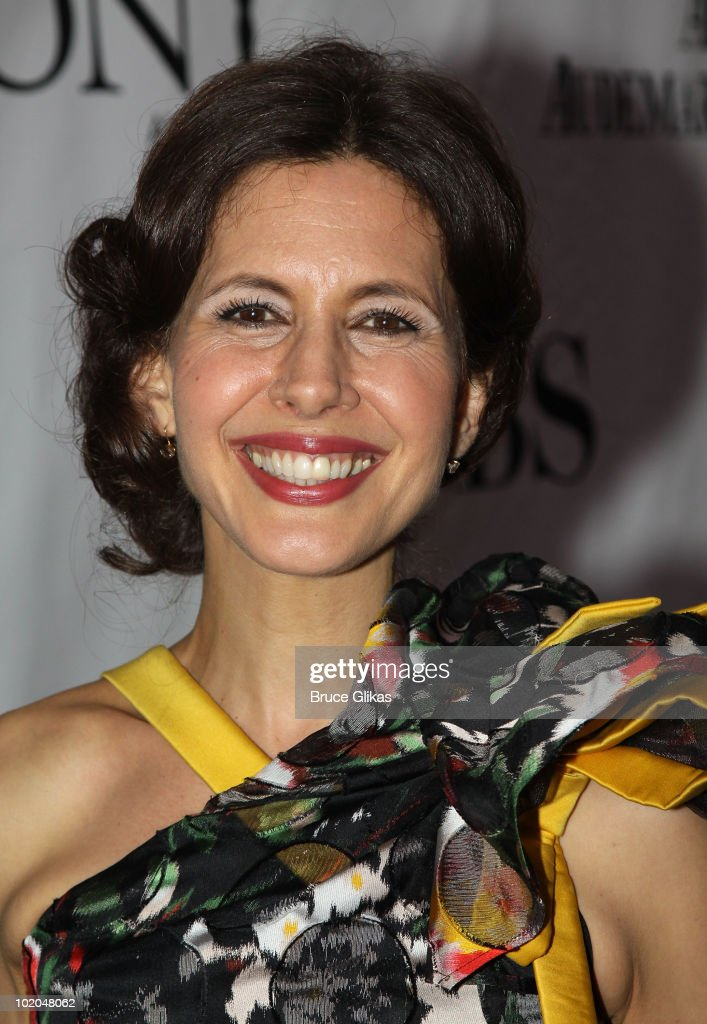 Jessica Hecht attends the 64th Annual Tony Awards at Radio City Music Hall on June 13 2010 in New York City