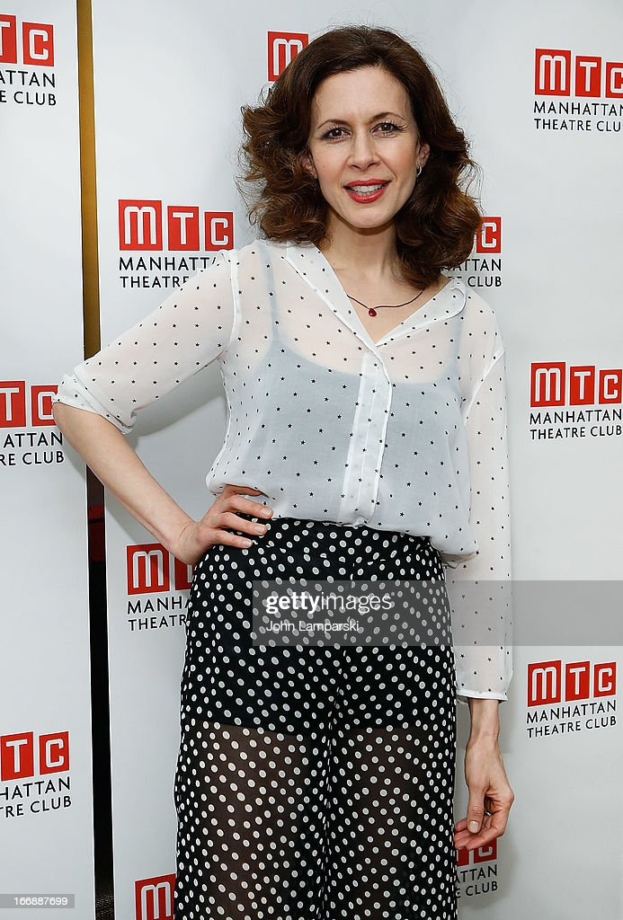 Jessica Hecht attends 'The Assembled Parties' Broadway Opening Night after party at the Copacabana on April 17, 2013 in New York City.