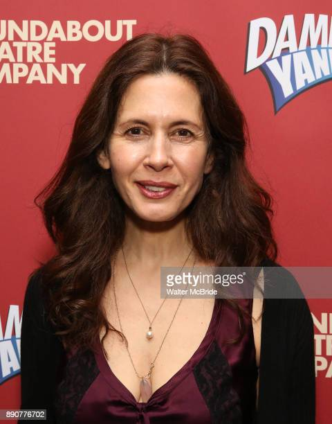 Jessica Hecht attends the cast party for the Roundabout Theatre Company presents a OneNight Benefit Concert Reading of 'Damn Yankees' at the Stephen...