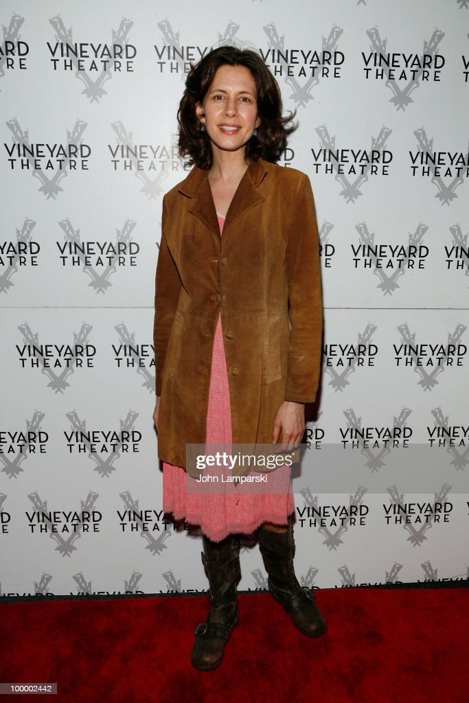 Jessica Hecht attends the opening night of 'The Metal Children' at the Vineyard Theatre on May 19, 2010 in New York City.