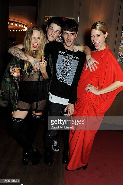 Jessica Horwell and Ash Stymest with guests attend the Marie Claire 25th birthday celebration featuring Icons of Our Time in association with The...
