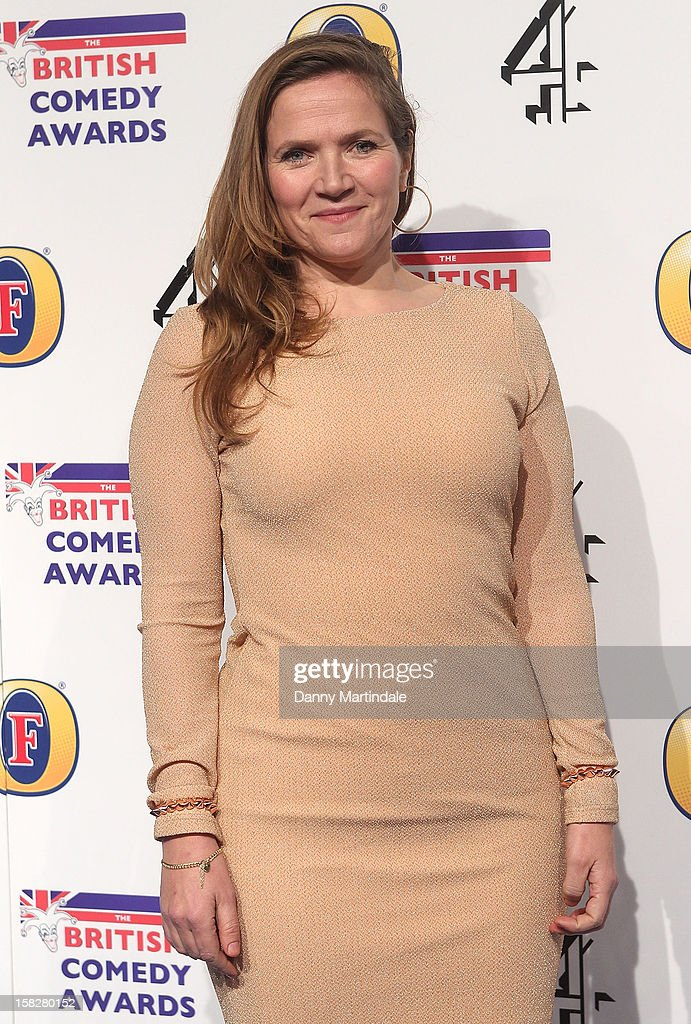 Jessica Hynes attends the British Comedy Awards at Fountain Studios on December 12, 2012 in London, England.