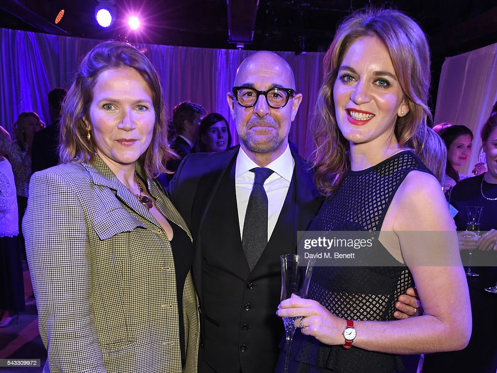 Jessica Hynes, <a gi-track='captionPersonalityLinkClicked' href=/galleries/search?phrase=Stanley+Tucci&family=editorial&specificpeople=209366 ng-click='$event.stopPropagation()'>Stanley Tucci</a> and <a gi-track='captionPersonalityLinkClicked' href=/galleries/search?phrase=Felicity+Blunt&family=editorial&specificpeople=2352501 ng-click='$event.stopPropagation()'>Felicity Blunt</a> attend the Summer Gala for The Old Vic at The Brewery on June 27, 2016 in London, England.