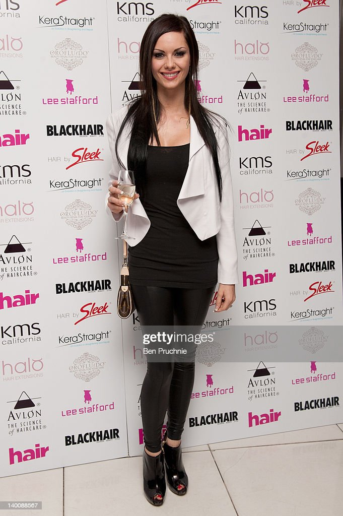 Jessica Jane Clement attends The Hair Awards 2012 at Millbank Tower on February 27, 2012 in London, England.