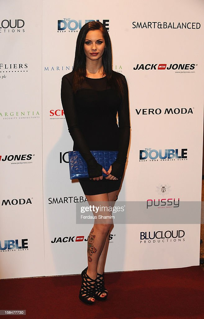Jessica- Jane Clement attends the UK Film Premiere of 'The Double' on December 17, 2012 in London, England.