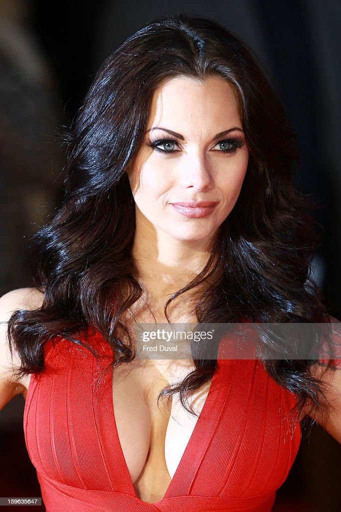 Jessica Jane Clements attends the UK Premiere of 'Flight' at The Empire Cinema on January 17, 2013 in London, England.
