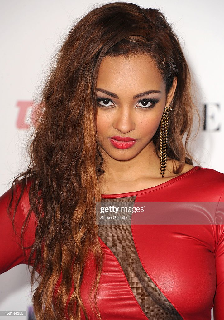 Jessica Jarrell arrives at the 'Justin Bieber's Believe' World Premiere at Regal Cinemas L.A. Live on December 18, 2013 in Los Angeles, California.