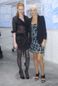 Jessica Joffe and Vanessa Bruno attend The Vanessa Bruno Grand Opening Party on October 21 2010 in Los Angeles California