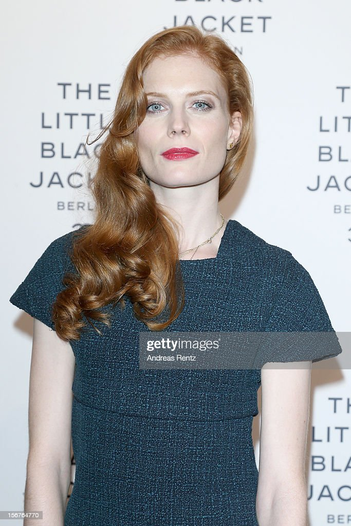 Jessica Joffe attends CHANEL 'The Little Black Jacket' - Exhibition Opening by Karl Lagerfeld and Carine Roitfeld on November 20, 2012 in Berlin, Germany.