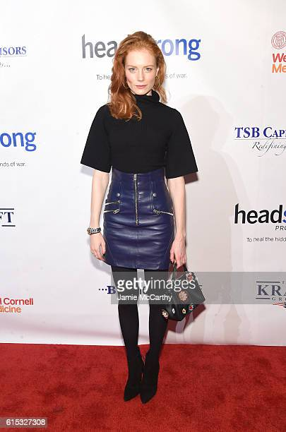 Jessica Joffe attends Headstrong Project Words Of War Gala at Pier 60 on October 17 2016 in New York City