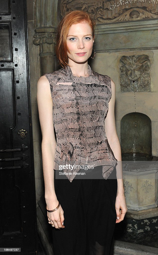 Jessica Joffe attends Juan Carlos Obando Jewelry Collection Launch Dinner at Chateau Marmont on November 15, 2012 in Los Angeles, California.