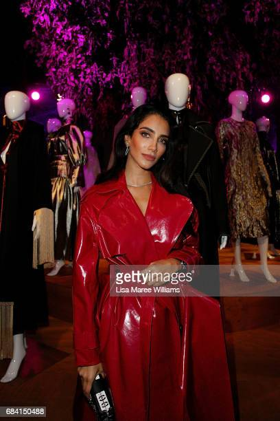 Jessica Kahawaty attends the Ellery X Etihad Airways event at MercedesBenz Fashion Week Resort 18 Collections at The Elston Room Carriageworks on May...