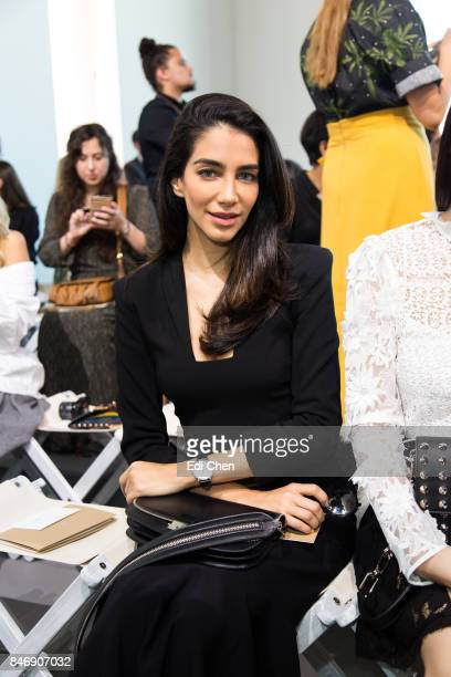 Jessica Kahawaty attends the Michael Kors runway show during New York Fashion Week at Spring Studios on September 13 2017 in New York City