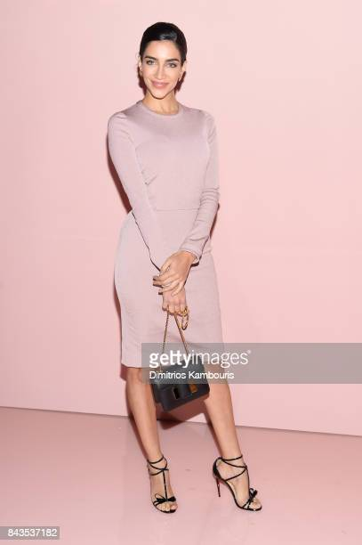 Jessica Kahawaty attends the Tom Ford Spring/Summer 2018 Runway Show at Park Avenue Armory on September 6 2017 in New York City