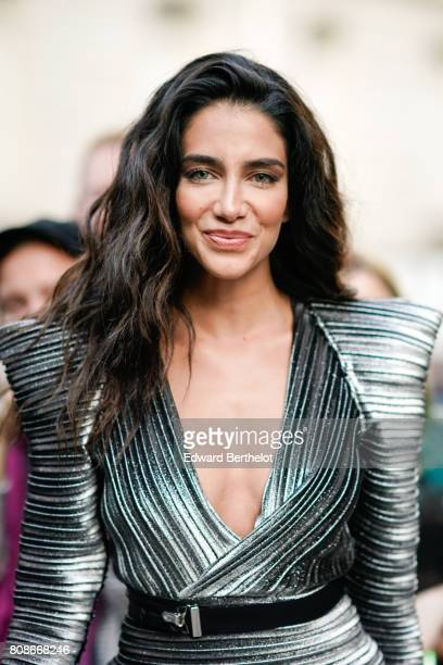 Jessica Kahawaty attends the Vogue Foundation Dinner during Paris Fashion Week Haute Couture Fall/Winter 20172018 on July 4 2017 in Paris France
