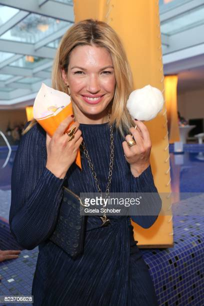 Jessica Kastrop during the summer party of and at Hotel Bayerischer Hof on July 27 2017 in Munich Germany